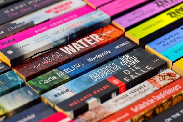 Foto boekenverkoop